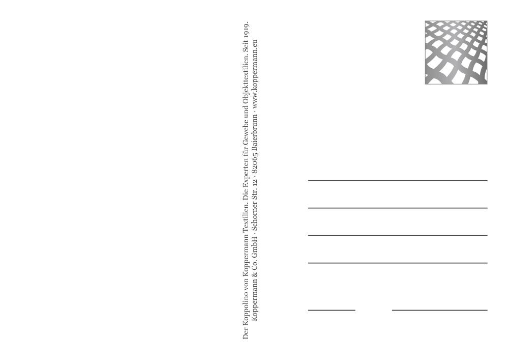 Postkarten Design - Frankierzone und Freimachzone - sehenundmachen