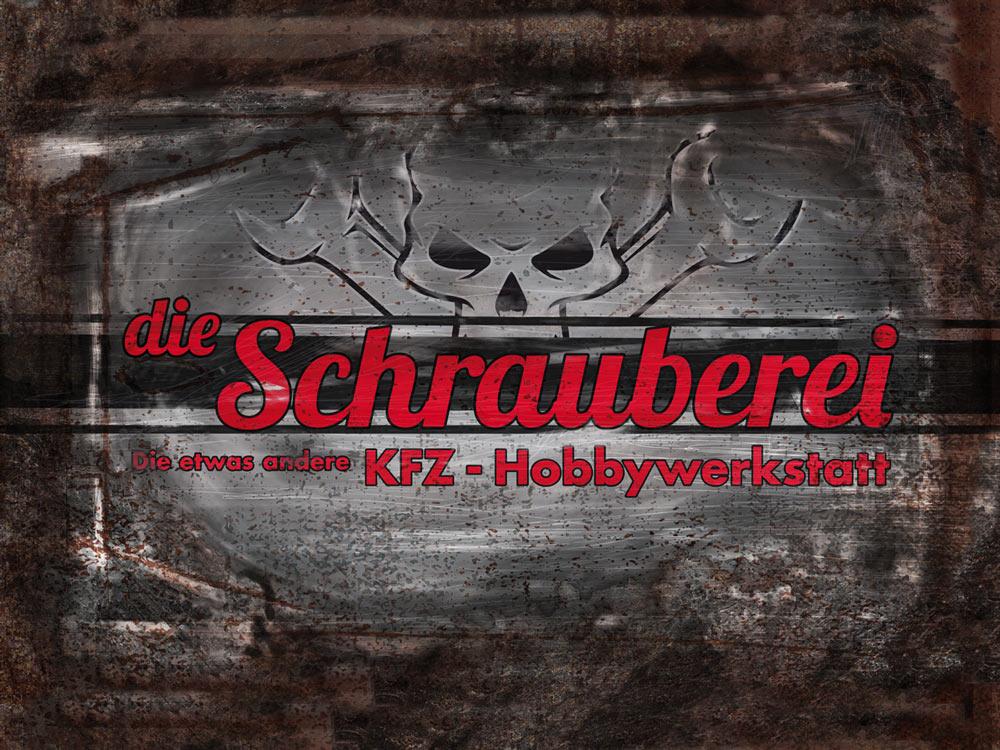 Die Schrauberei Hobbywerkstatt - Werbefolierung von sehenundmachen.de Grafikdesign in München
