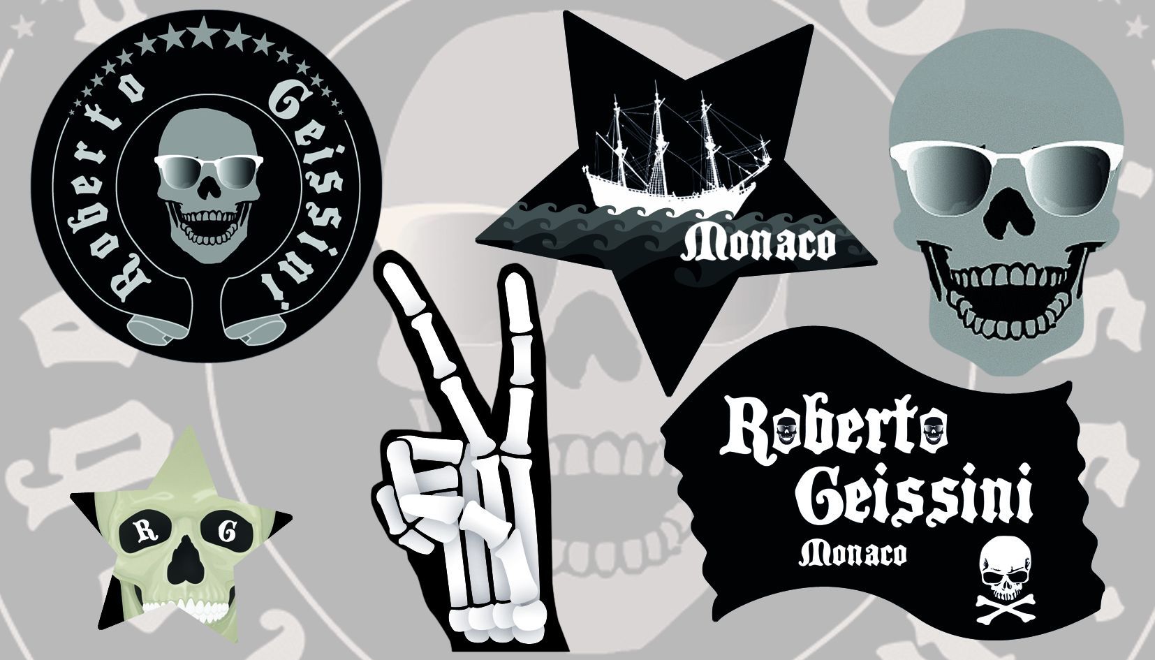 Roberto Geisini - Stickerfaces Grafikdesign