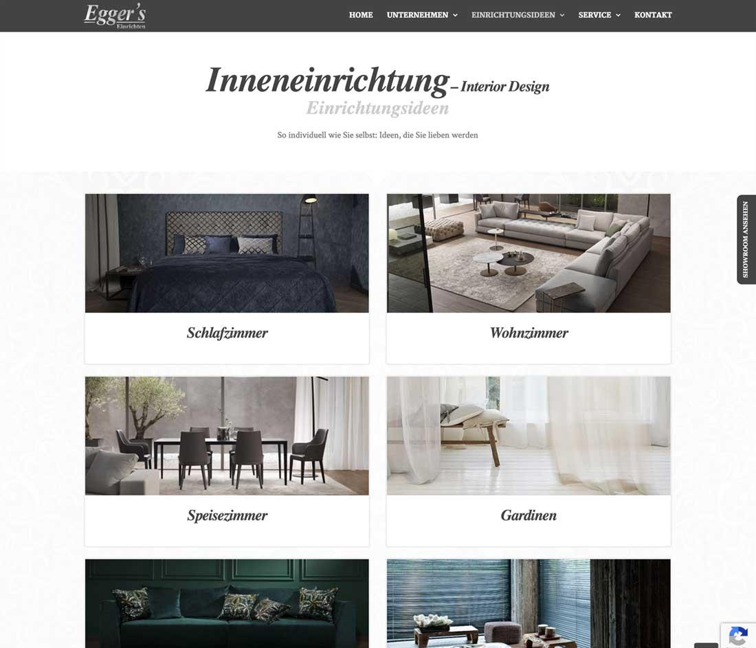 Homepage für Inneneinrichter und Raumgestalter