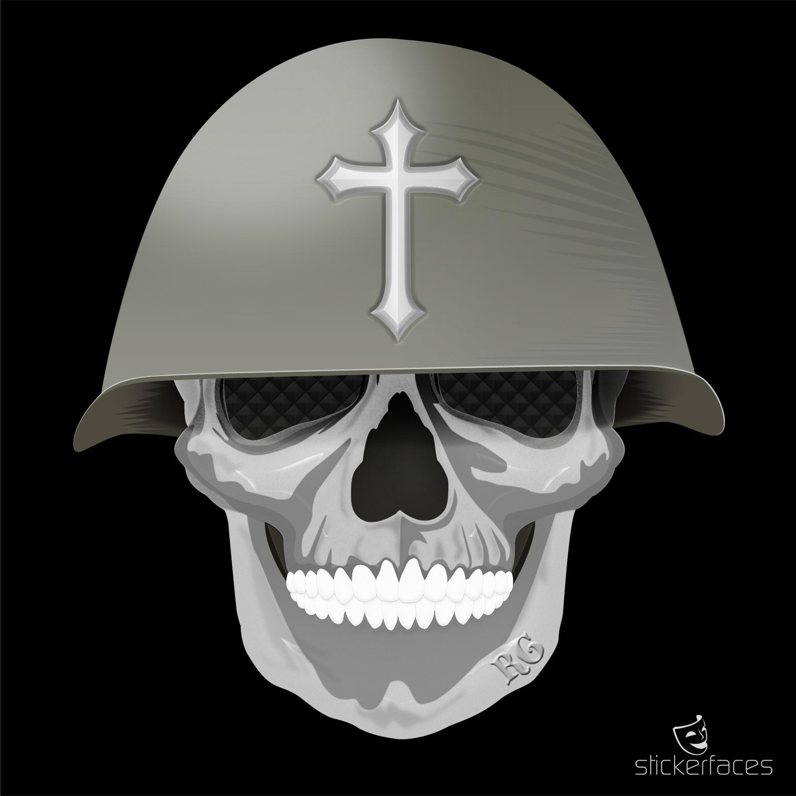 Grafik Skull Military by sehenundmachen ©